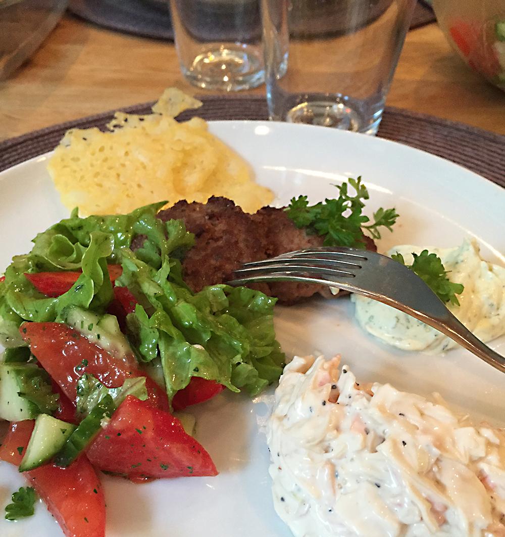 LCHF-middag med västerbottenostchips